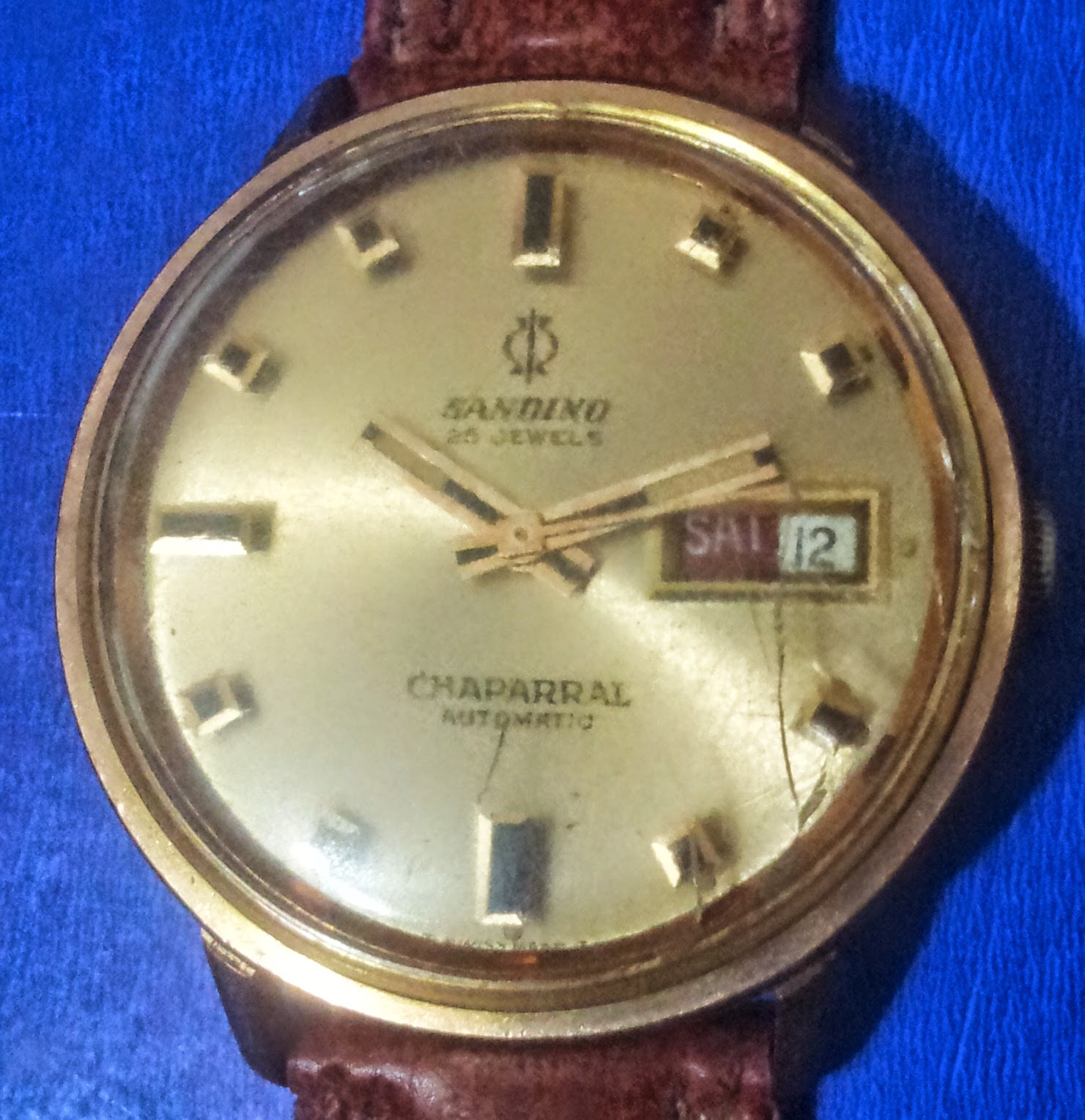 silvium antiques: VINTAGE RARE MEN\'S WATCH \