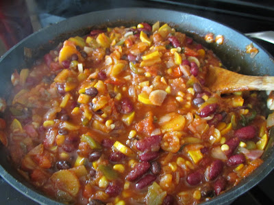 GF Vegetable Chili