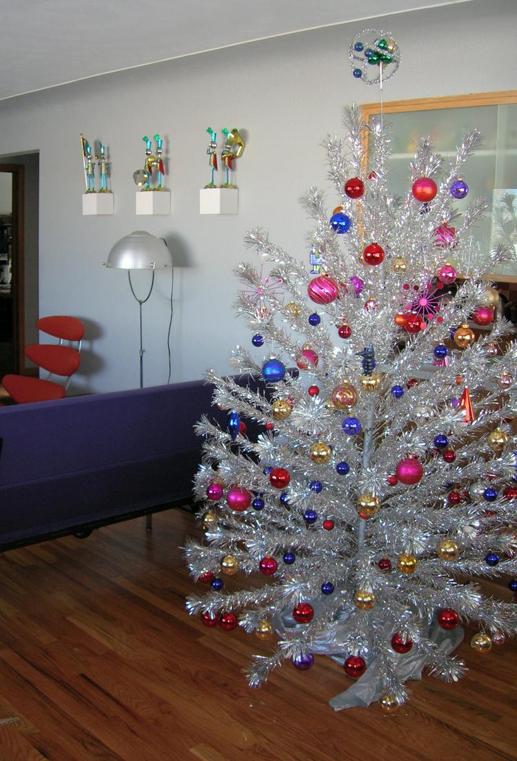 retro christmas tree - Retro Christmas Trees