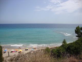 Platja del Torn nudist beach - L´Hospitalet de L'Infant