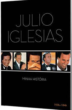 Baixar Box Julio Iglesias – Minha História CD 01, 02 ,03 2012