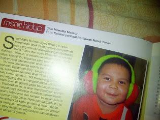Artikel di majalah Era Muslimah April 2014