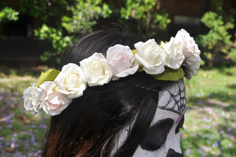 Floral Crown, DIY, DIY Floral Crown, Floral Garland, Lana Del Rey, Inspired, Nature, Flowers, Roses, Leaves, boho,
