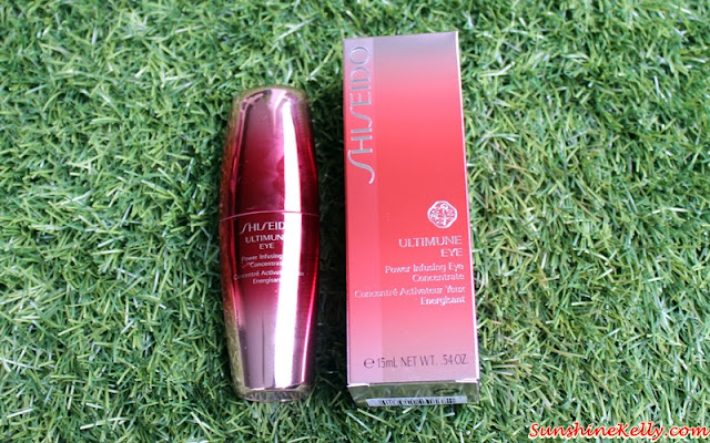 Shiseido Ultimune Eye, Shiseido Ultimune Eye Experience, Shiseido Malaysia, Shiseido Ultimune Power Infusing Concentrate, Shiseido Ultimune Power Infusing Eye Concentrate, Shiseido Ultimune