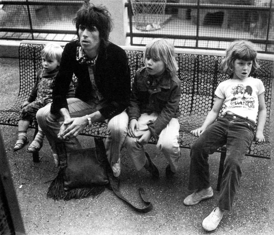 (Diet) Coke and Sympathy: Exiled Keith Richards Family