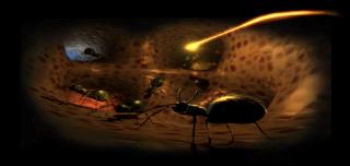 Où trouver le calice de la caverne des fourmis dans Medievil