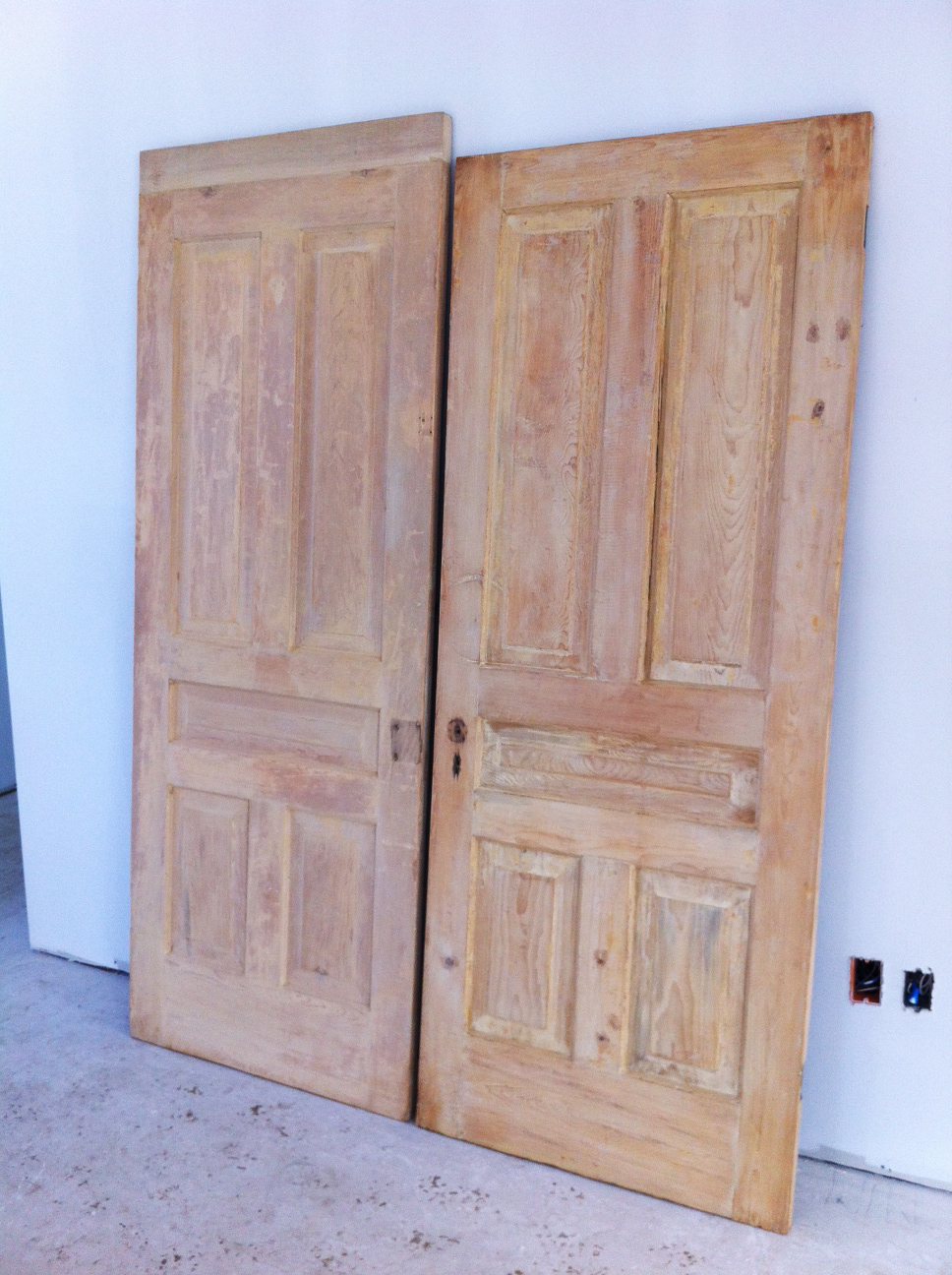 Antique Interior Doors & Newel Posts - Building Walnut Farm: Antique Interior Doors & Newel Posts