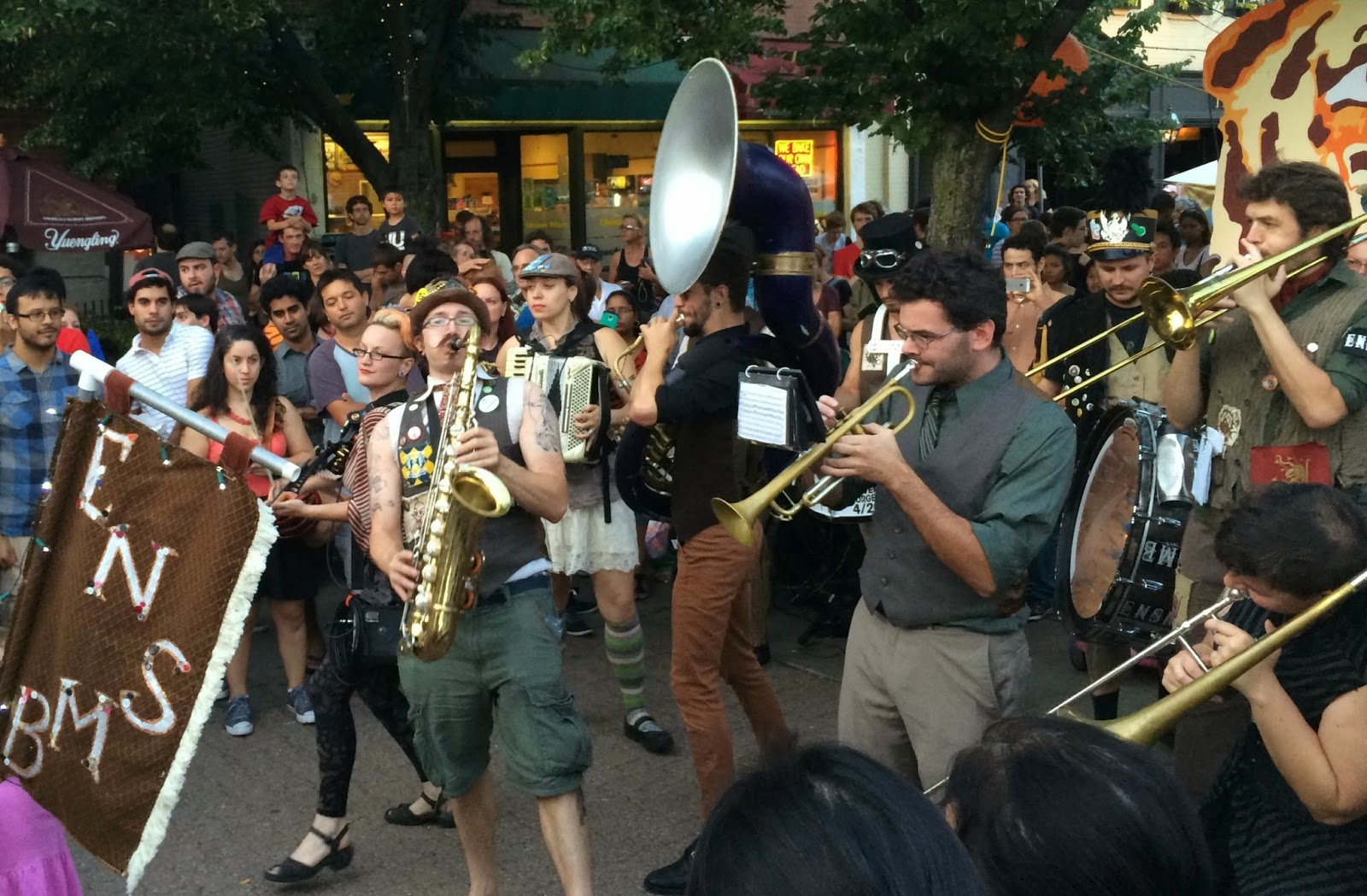 New England Fall Events - HonkFest Boston - Emperor Nortons Stationary Band