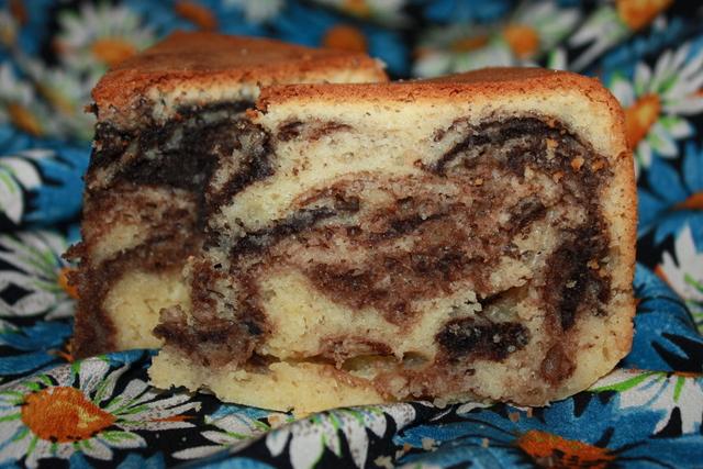 Пирог мраморный рецепт с на сметане