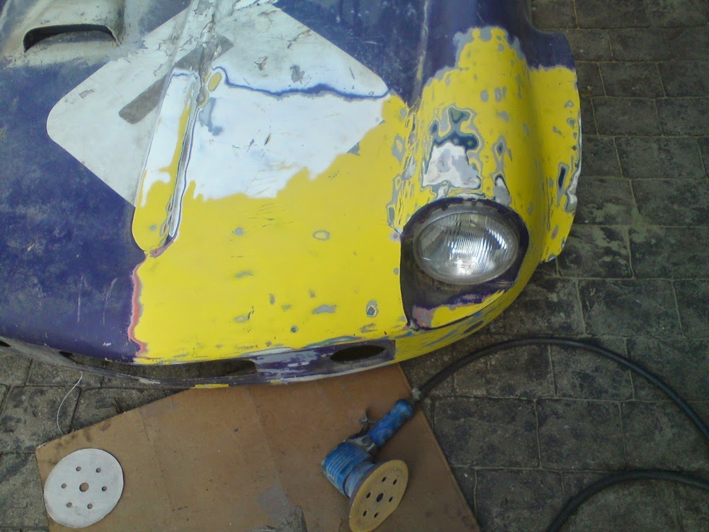 Strip One Layer Paint Car