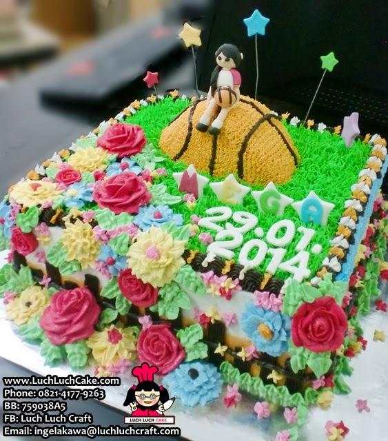Kue Tart Tema Basket Daerah Surabaya - Sidoarjo