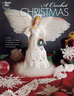 книги о вязании, вязание крючком, Annie's Attic - A Crochet Christmas  - 2007
