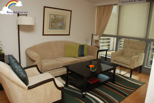 Discovery Suite Ortigas living room