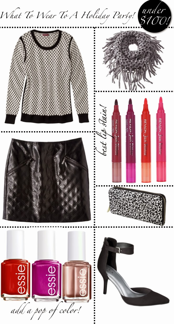 What To Wear To A Holiday Party Under $100- Holiday outfits-Golden Divine Blog-Target Style
