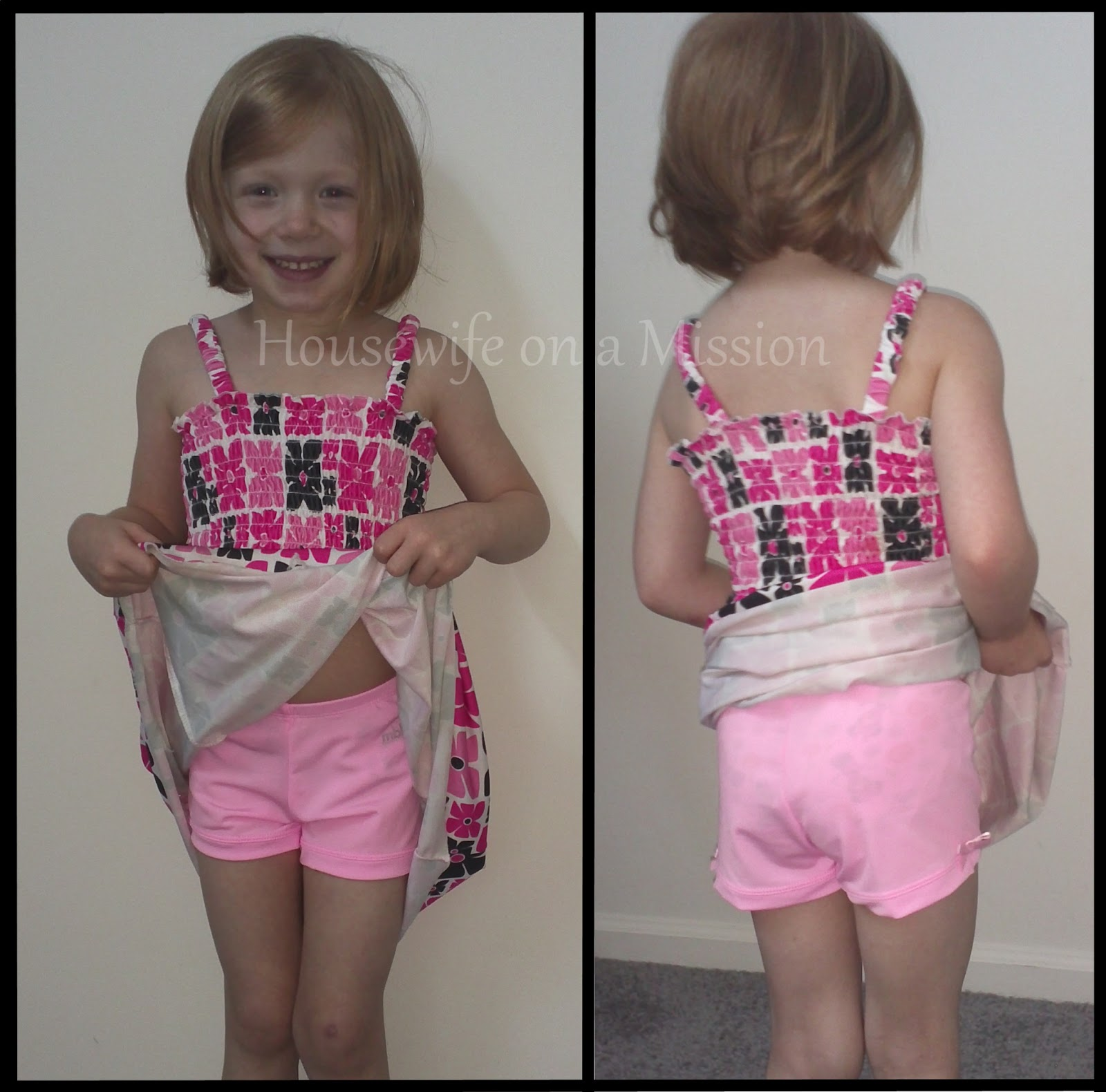 Daughter panty  I love that my daughter can wear dresses and I can be worry free about her  panties showing. These shorts are also great to put over her gymnastics  suit ...