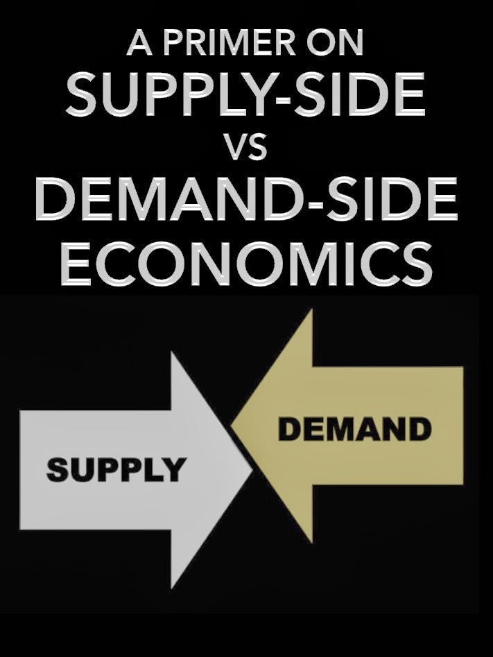 a comparison of the keynesian economics and the supply side economics Supply side economics compare and contrast biography keynesian economics government is involved government is in complete control to revive the economy.