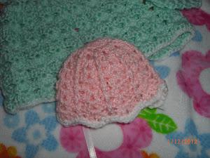 Pink Preemie Hat  1/12/12