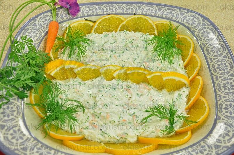 Havuçlu Kereviz Salatası Tarifi Kolay Yapımı