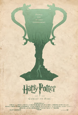 Harry potter y el caliz de fuego poster