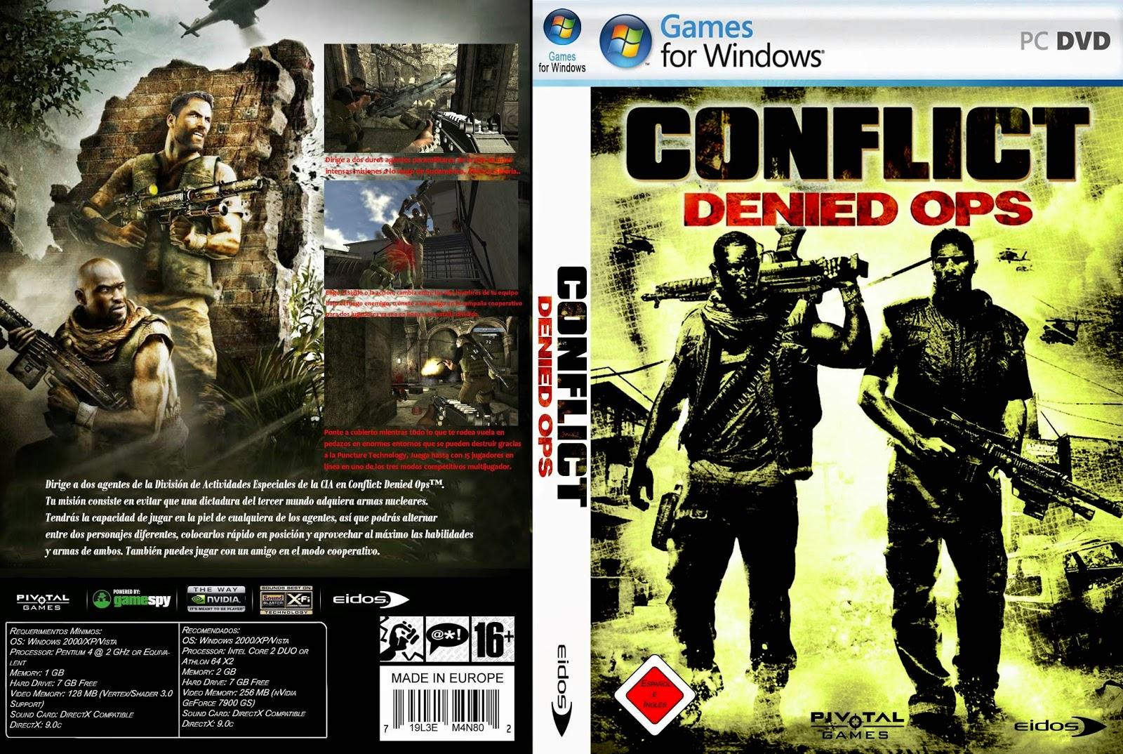 تحميل لعبة Conflict Denied Ops برابط واحد وبدون تثبيت