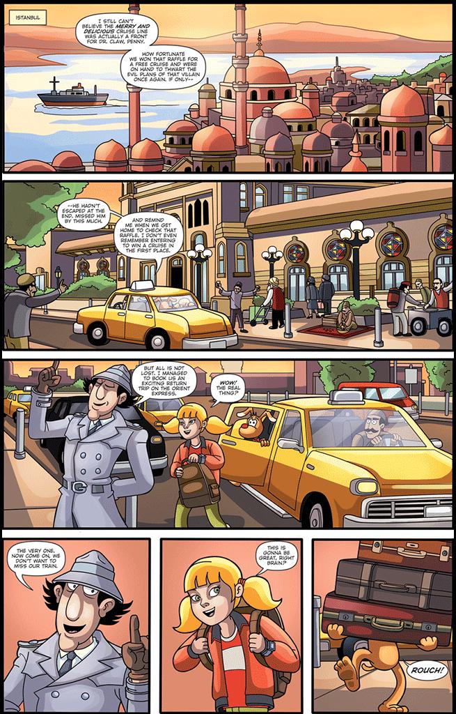 Инспектор гаджет комиксы 0 фотография
