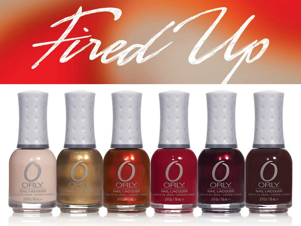 Elite Nails Hand, Foot and Body Spa: The fiery shades of ORLY\'s ...