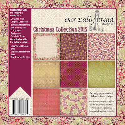 Our Daily Bread Designs Paper Collection - Christmas 2015
