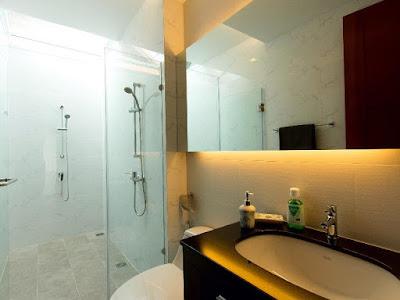 bathroom in pattaya jomtien