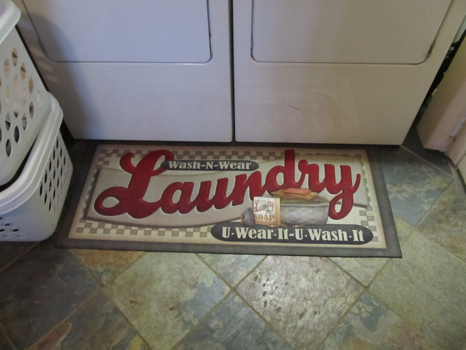 Gravel Hill Farm New Laundry Room Rug