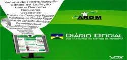 Diário Oficial dos Municipio-RO
