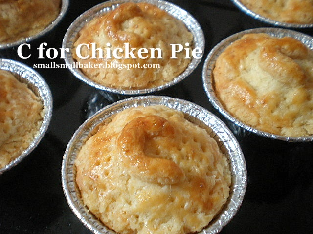 how to make the pastry for personalise chicken pie