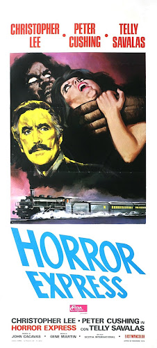Poster Of Horror Express (1972) In Hindi English Dual Audio 100MB Compressed Small Size Mobile Movie Free Download Only