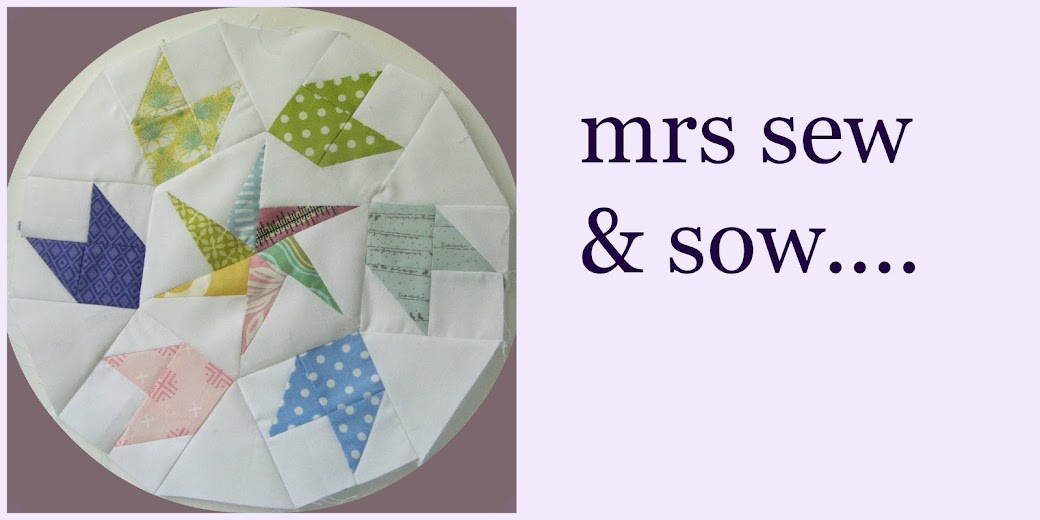 Mrs Sew and Sow.....