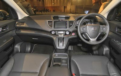 Interior All-new Honda CR-V Facelift