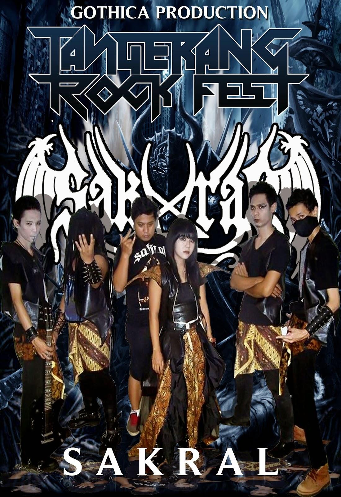 Sakral On Tangerang Rock Fest   Gothica Production