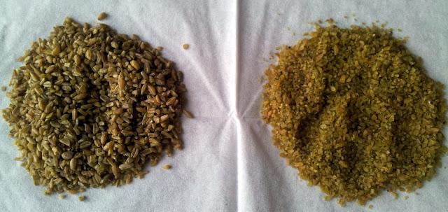 Types of Freekeh Smoked Green Wheat by www.dish-away.com