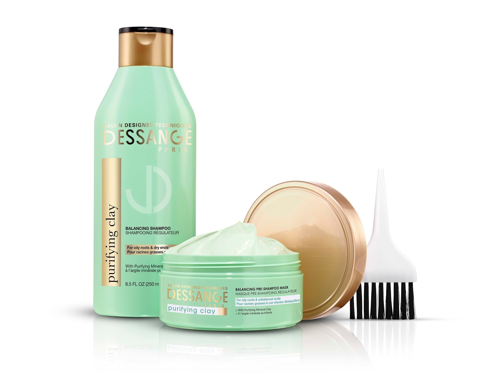 A1nettie 39 s loves clay mask for hair dessange at target for Salon jacques dessange