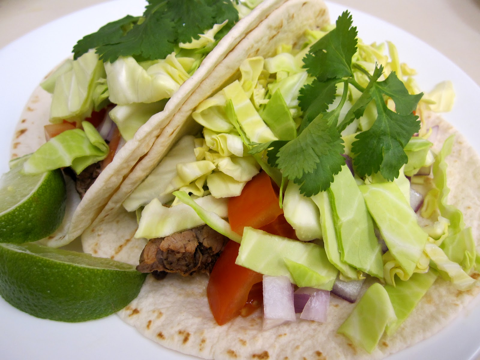 Fruitless Ambition: Grilled Steak Soft Tacos