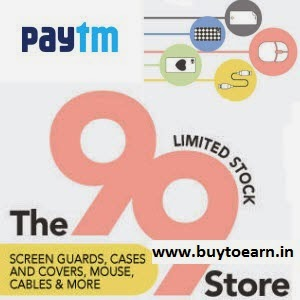 Buy Mobile Accessoires Rs. 99 or Below – PayTm Rs. 99 Store
