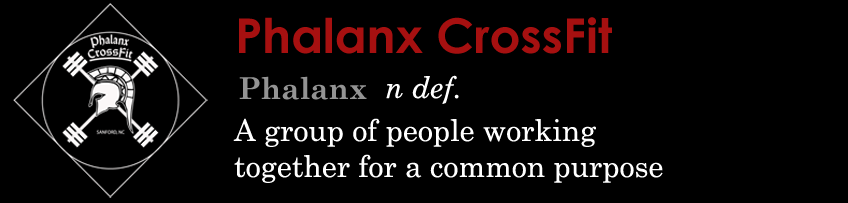 Phalanx CrossFit - Welcome to Your CrossFit Home in Sanford, NC!