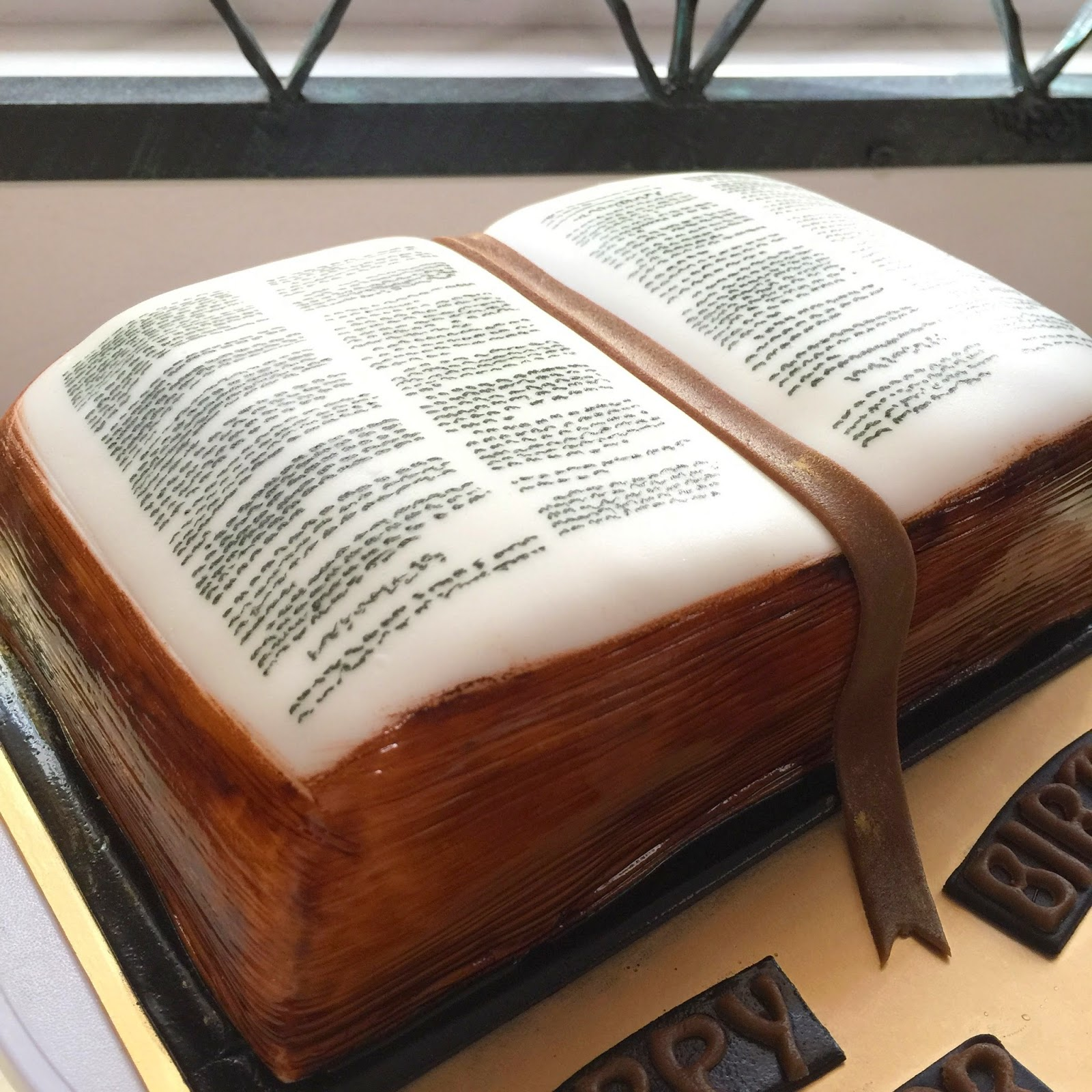 Sword And Bible Cake Sherbakes