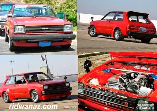 Toyota Starlet 1000/KP60 – tahun 1981