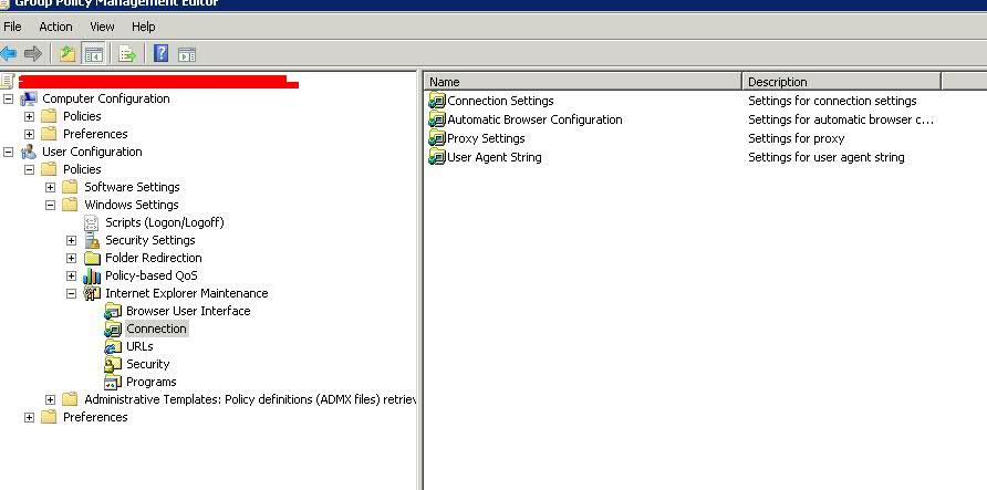 automatically detect proxy settings script