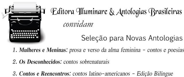 Chamada para publicação em Antologias - Editora Illuminare