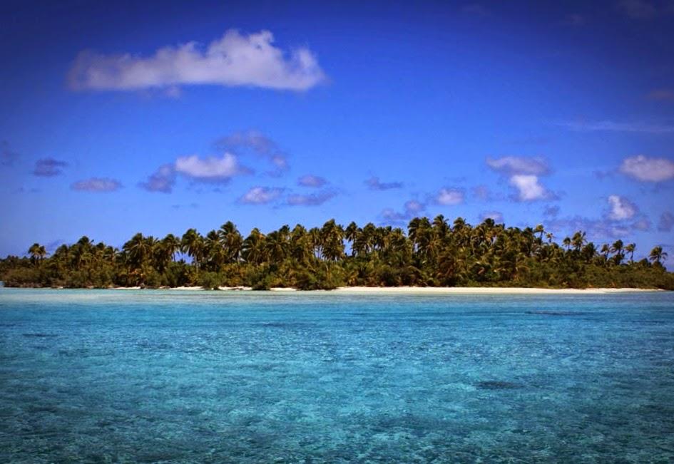 Small Pacific island