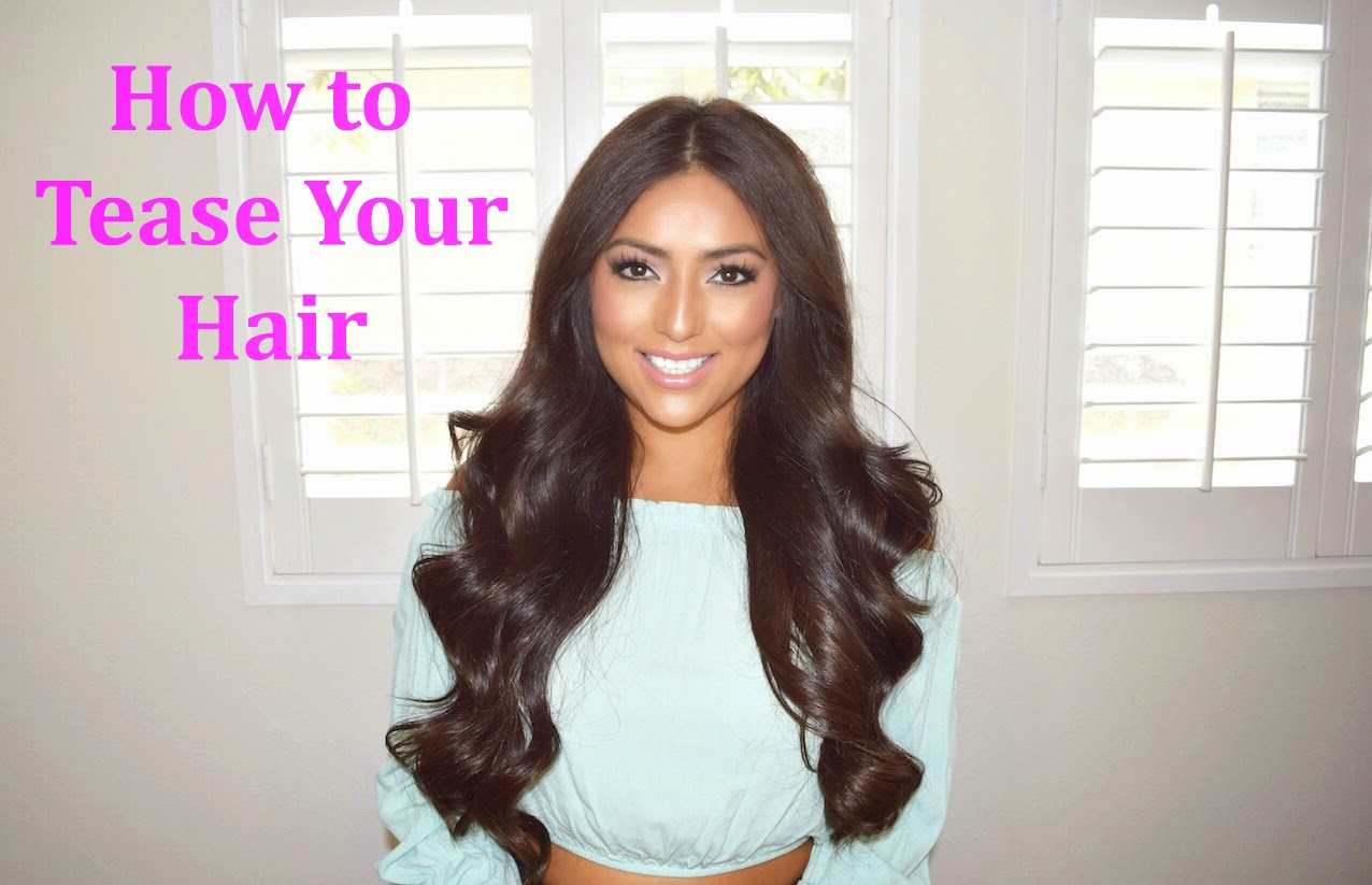 Adriana Aden How To Tease Your Hair - Edit your hairstyle