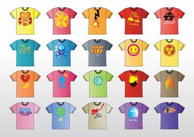 T-シャツのフリー素材