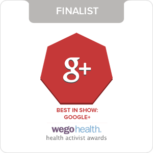 WEGO HEALTH AWARD