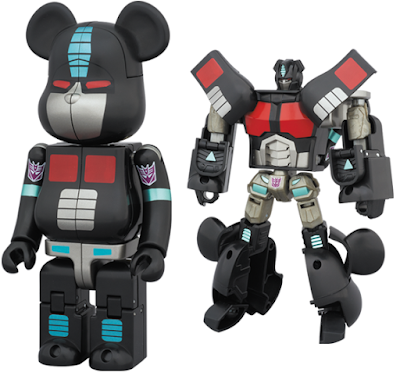Transformers Nemesis Prime 200% Transforming Be@rbrick Vinyl Figure by Medicom