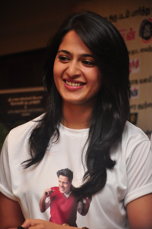 Actress Anushka Shetty...